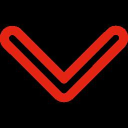 Icon eines Pfeils, der nach unten zeigt