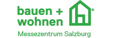 Logo der Messe Bauen und Wohnen im Messezentrum Salzburg