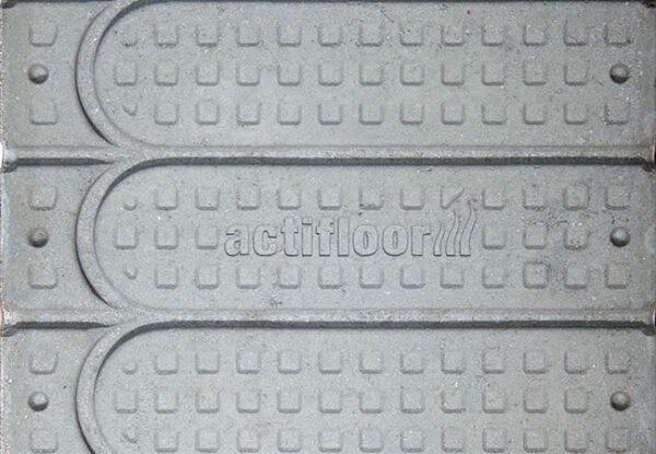 Foto einer Wärmeleitplatte